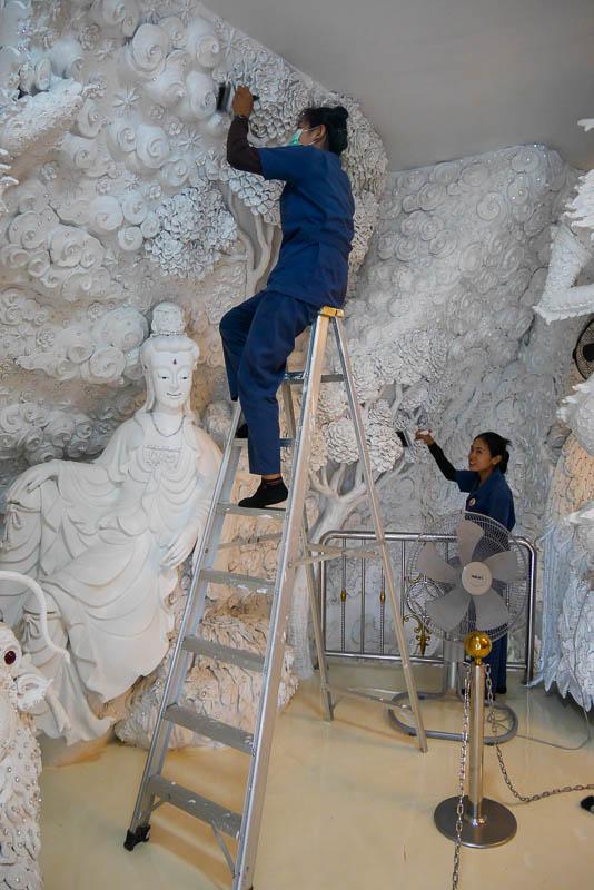 25-te piętro wewnątrz posągu bogini Guanyin