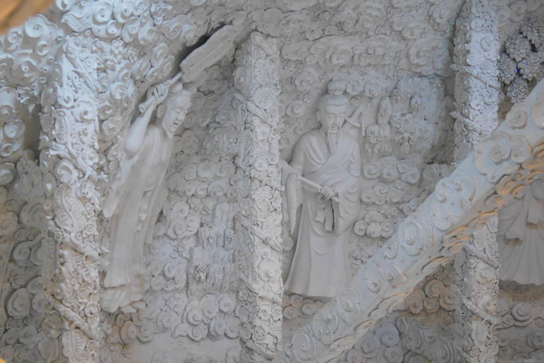Rzeźby w Wat Huay Pla Kang