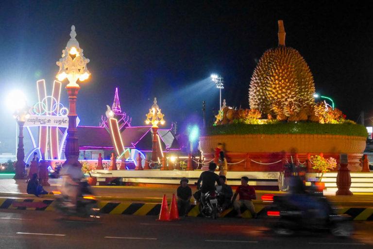 Durian - symbol dawnych czasów w prowincji Kampot