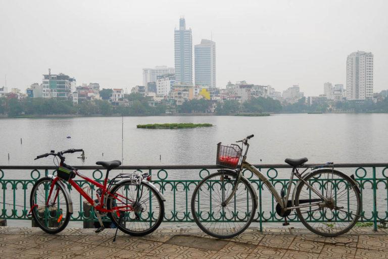 Jezioro Zachodnie w Hanoi